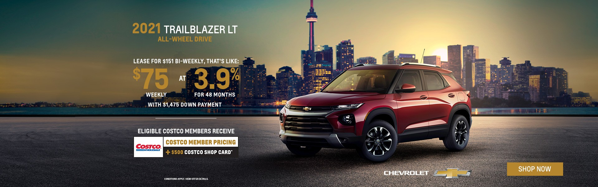 2021 Chevrolet Trailblazer Specials Brampton